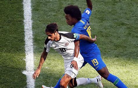 brasil vs costa rica revive las mejores jugadas