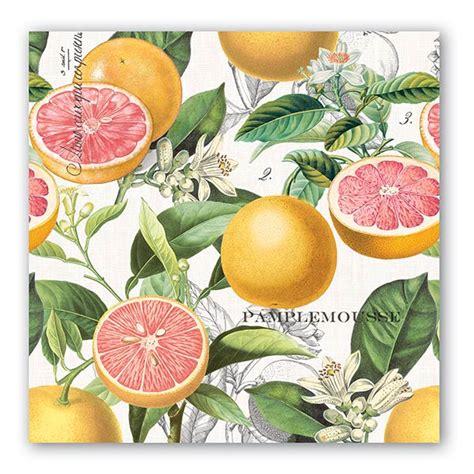 michel design works pink grapefruit home fragrance diffuser michel design works luncheon napkins pink grapefruit