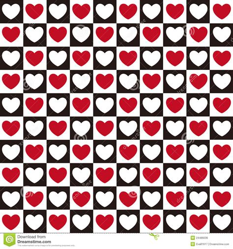 seamless heart pattern vector heart pattern seamless royalty free stock image image