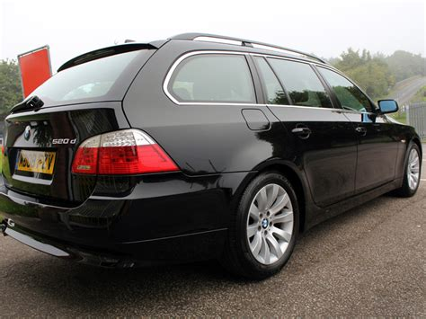 bmw car visits ultimate detailing studio with an e61 520d