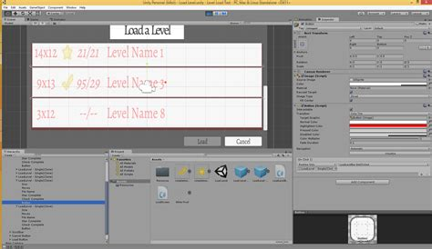 unity gui grid layout gui why are these unity ui buttons only responding to