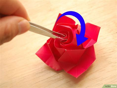 tutorial origami rosa italiano come fare una rosa di carta 50 passaggi illustrato
