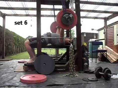 dynamic effort bench powerlifting training log 20 june 2013 westside method