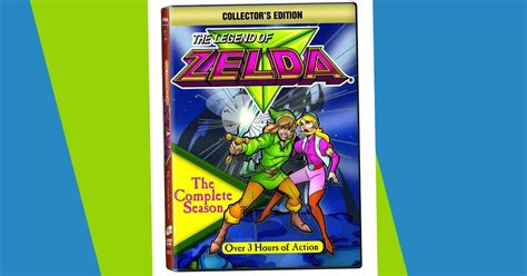 amazon zelda amazon the legend of zelda complete season dvd only 2 99