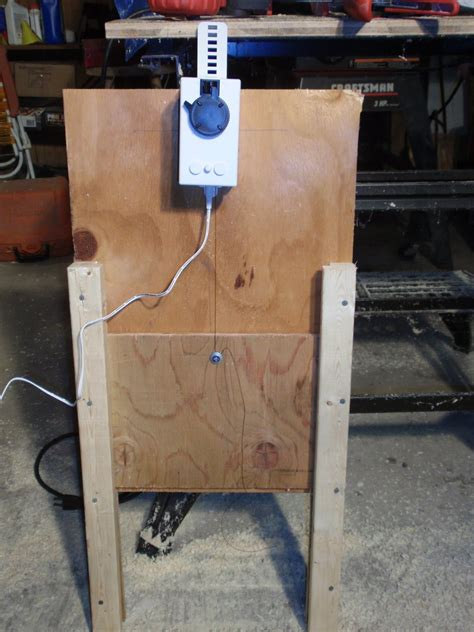 automatic chicken coop door conversion phase one