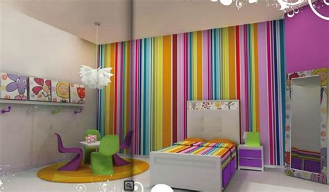 cute room painting ideas girls room paint ideas colorful stripes or a beautiful