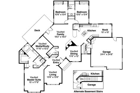 Ranch House Floor Plan by Ranch House Plans Camrose 10 007 Associated Designs