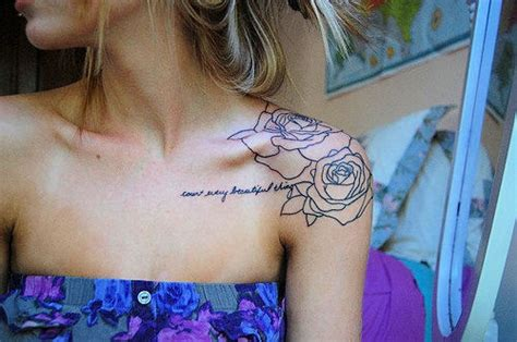 tattoo quotes shoulder shoulder tattoos for women best home decorating ideas