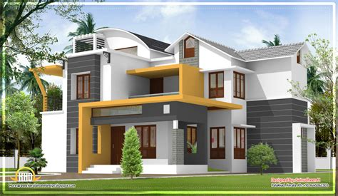 house plans new small modern house in kerala modern house