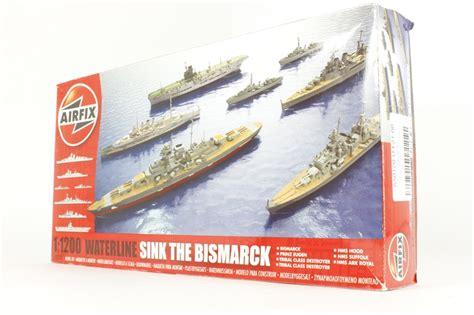 Sink The Bismarck Buy by Hattons Co Uk Airfix A50120 U Sink The Bismarck Set