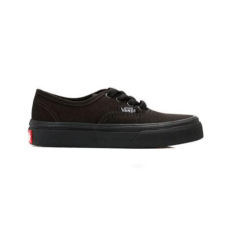 Sepatu Vans Autentic Casual Sneakers vans boys trainers black authentic canvas sneakers sport casual shoes ebay
