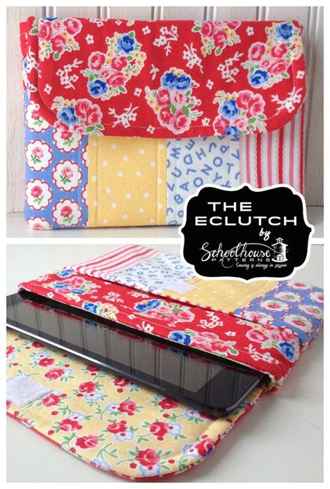 sewing pattern ipad case eclutch sewing pattern sleeve case with pocket fits