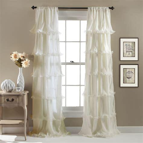 ruffled curtain panel 1000 ideas about ruffled curtains on pinterest ruffle