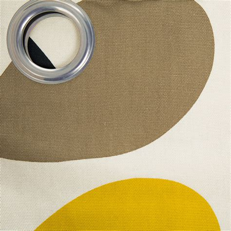 curtains 229 x 137 buy orla kiely multi stem eyelet curtains duck egg