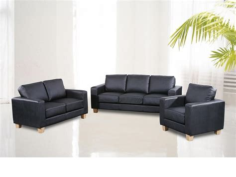 Leather Sofas 3 2 1 Set 3 2 1 Seater Sofa Suite Faux Leather Homegenies