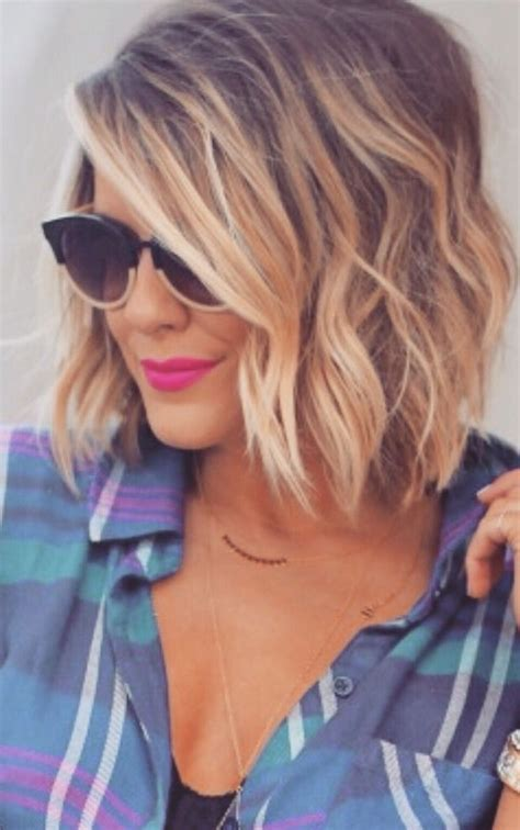 how to ombre shoulder length hair 25 exciting medium length layered haircuts popular haircuts