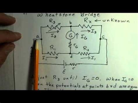 wheatstone bridge determine unknown resistance wheatstone bridge concepts calculate the value of an unknown resistance