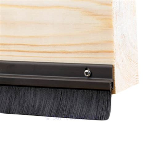 Door Sweep Brush by Door Bottom Brush Draught Excluder Sweep Seal Brown