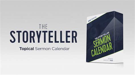 Preaching Calendar Template 2016