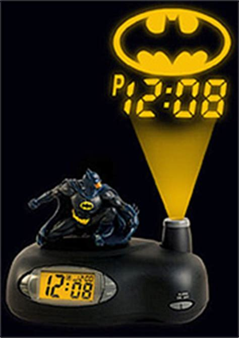 batman projection alarm clock ohgizmo