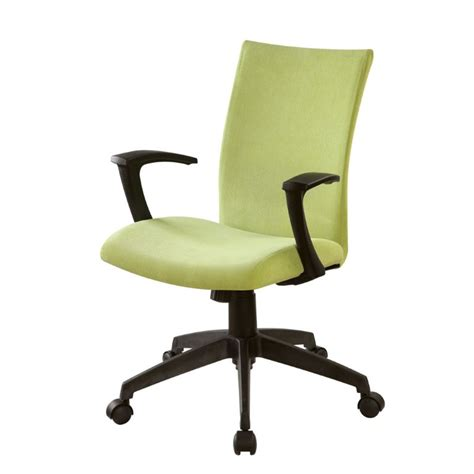 furniture of america nola adjustable office chair in green