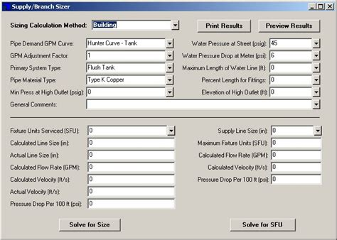 Plumbing Design Calculation by Elite Software S Pipe
