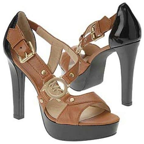 Mk B698 7 Wedges Shoes michael kors mk shoes womens high heels sandals strappy