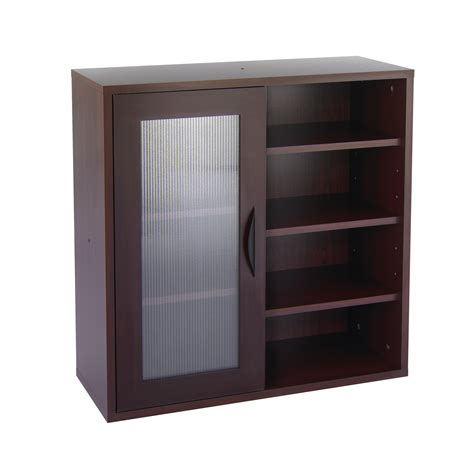 Storage Cabinet Glass Doors Storage Cabinets With Doors And Shelves Decofurnish