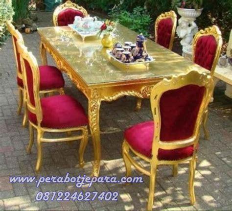 Makan Meja Di Golden Leaf set meja makan murah perabot jepara perabot jati toko perabot jepara