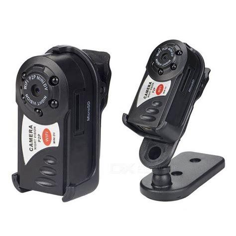 p2p cam mini hd portable p2p wi fi ip camera hidden dv dvr black