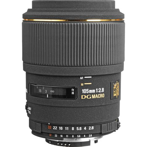 Sigma Macro sigma 105mm f 2 8 ex dg macro lens for nikon af cameras 257306