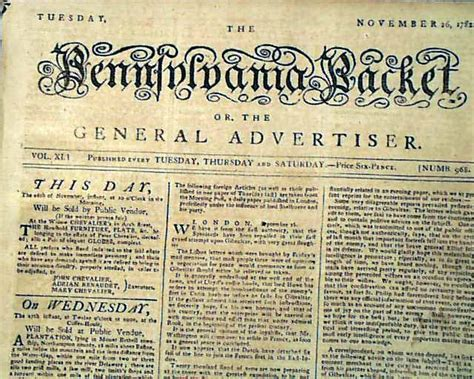 revolutionary war newspaper template george washington to move to after revolutionary