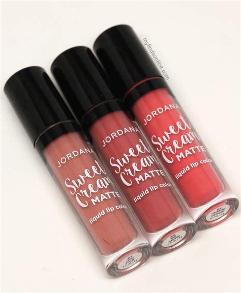 Jordana Creme Brulee Sweet Matte Liquid Lip Color Ori Usa Ek5c jordana sweet matte liquid lip color myfindsonline