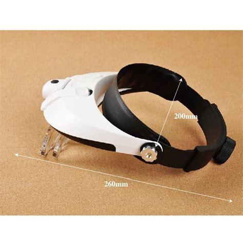 kacamata pembesar reparasi jam 11x magnifier 2 led white jakartanotebook