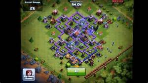 Clash of clans th7 farming defense 2 lvl6 troops attack youtube