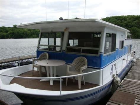 river house boats for sale 1970 40 foot us industries river queen starstream ii houseboat for sale in shafer mn