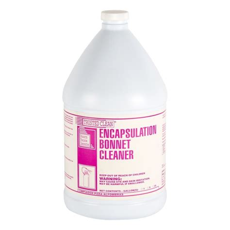 encapsulation bonnet scrubbing solution 2 gallons per