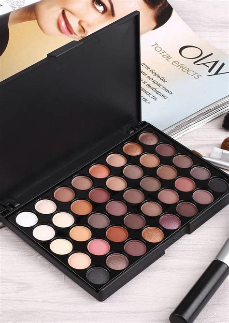 40 Colors Matte Luminous 40 colors matte luminous eyeshadow palette fairyseason