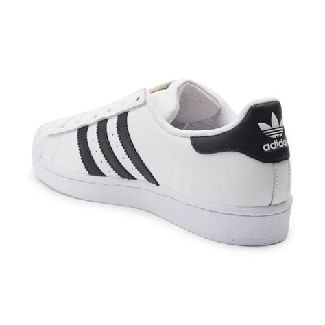 womens adidas superstar athletic shoe whiteblack