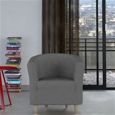 housse extensible fauteuil housse extensible tertio 174 pour fauteuil cabriolet bleu oc 233 an 67 3suisses shoppinglist salon