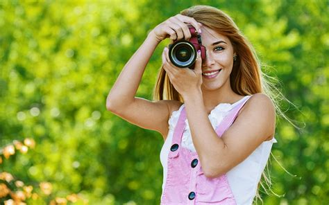 Girl With Camera Wallpaper Hd | beuatiful girl with camera hd wallpaper new hd wallpapers