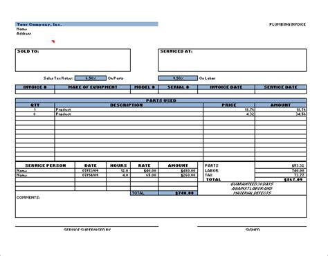 plumbing receipt template 4 plumbing receipt templates doc pdf free premium