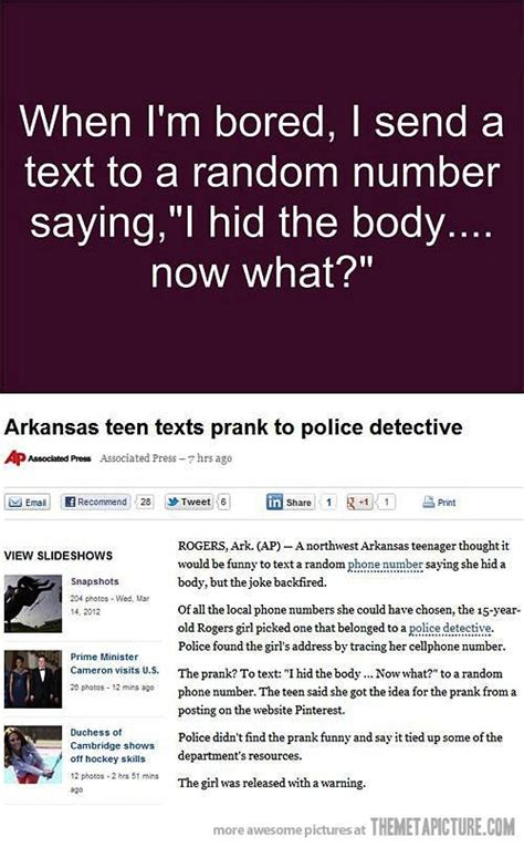 7 Bad Text Situations by Text Prank Goes Wrong Text Pranks Texts And Humor