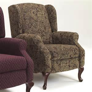 Upholstery Cleaning York Wing Back High Leg Recliner By Signature Design By Ashley