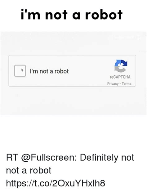 Allen Im Not A by I M Not A Robot I M Not A Robot Recaptcha Privacy Terms Rt