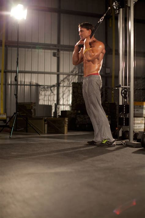standing rope crunch exercise guide  video