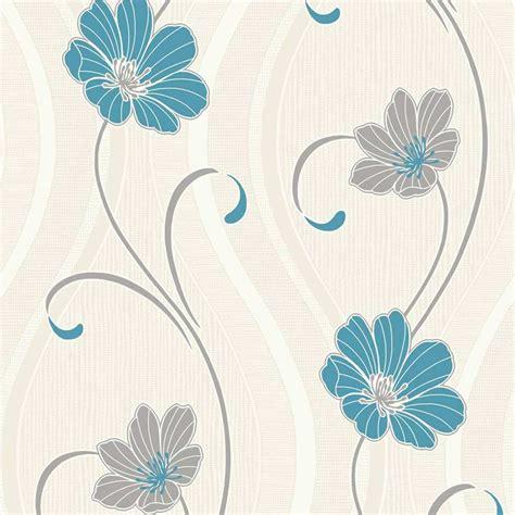 wallpaper teal flower teal flower wallpaper wallpapersafari