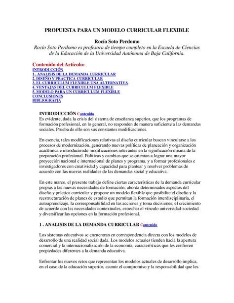 Modelo Curricular Semiflexible Propuesta Para Un Modelo Curricular By 237 Gaxiola Issuu