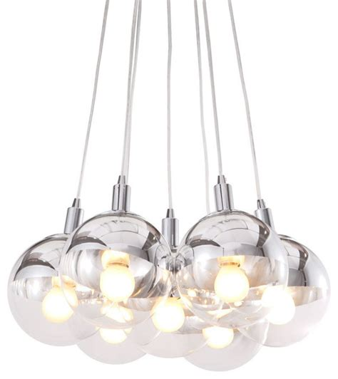 Zuo Modern Chandelier Zuo Modern Time Ceiling L In Chrome Modern Chandeliers By Beyond Stores