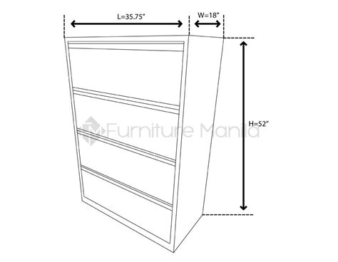 Lateral File Cabinet Dimensions Radar Lateral Filing Cabinet Home Office Furniture Philippines
